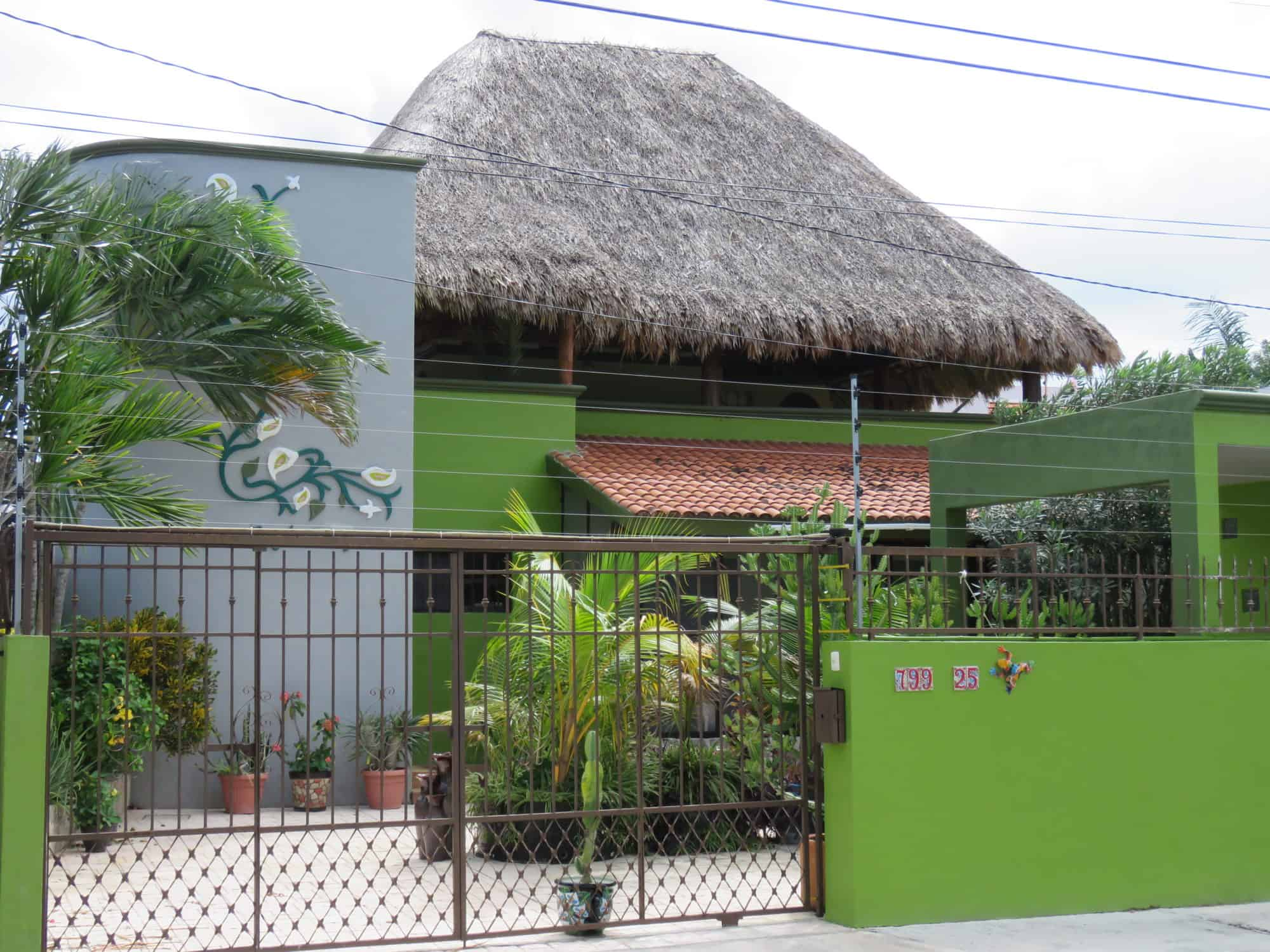 The street view, vacation rental condo in Cozumel, Mexico