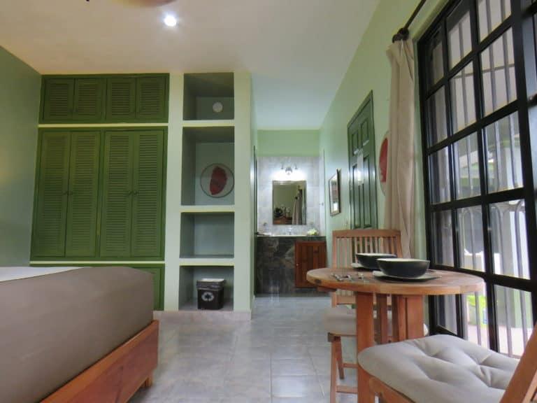 Open floor plan in the bedroom area, vacation rental condo in Cozumel, Mexico